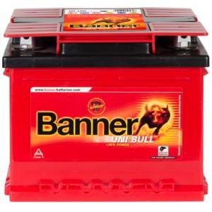 Акумулатор BANNER UNI BULL 58AH 450A R+/L+