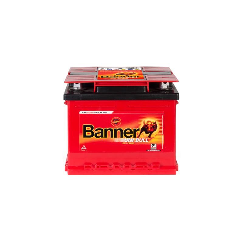 BANNER UNI BULL 58AH 450A R+/L+
