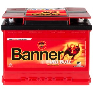 Акумулатор BANNER UNI BULL 69AH 520A R+/L+