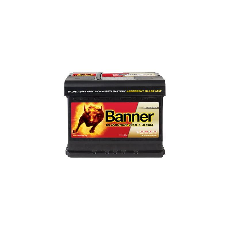 BANNER RUNNING BULL AGM 60AH 600A R+