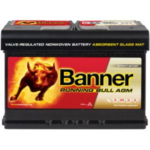 Акумулатор BANNER RUNNING BULL AGM 70AH 760A R+