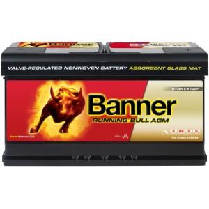 Акумулатор BANNER RUNNING BULL AGM 92AH 850A R+