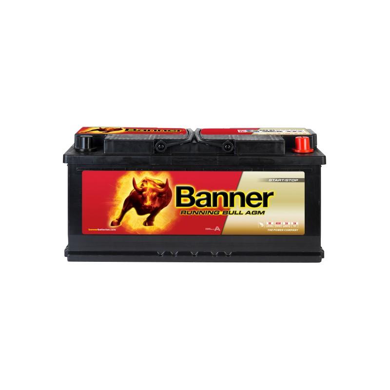 BANNER RUNNING BULL AGM 105AH 950A R+