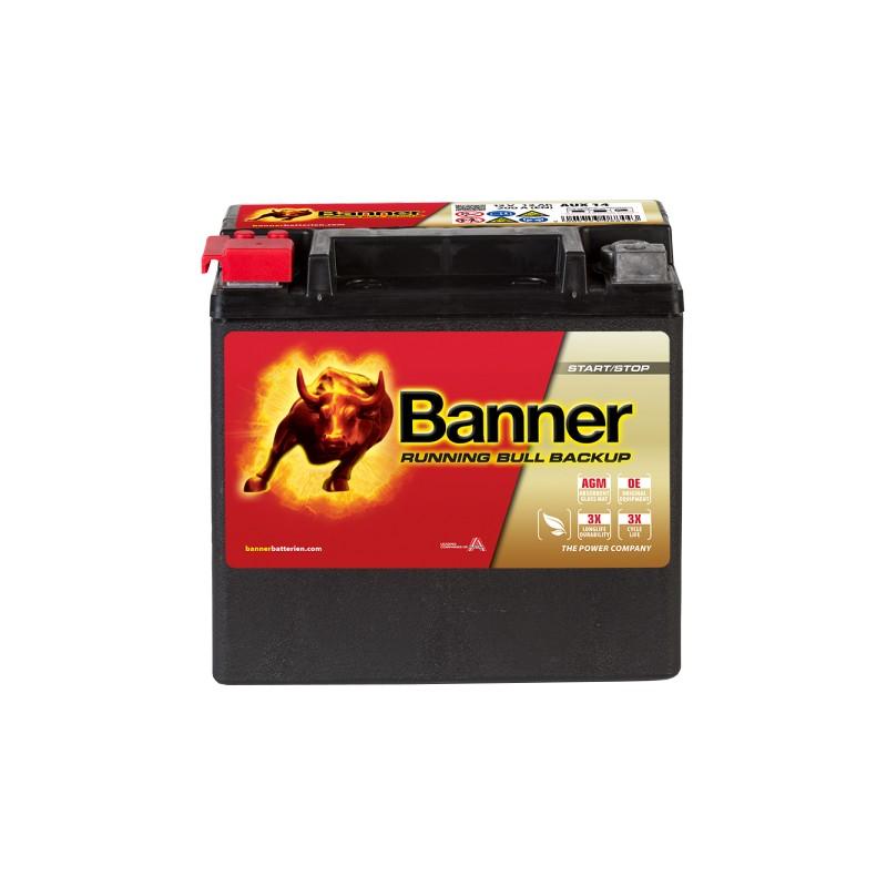 BANNER RUNNING BULL BACKUP 12AH 200A L+
