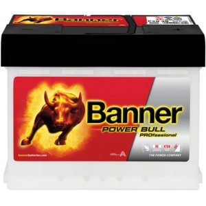 Акумулатор BANNER POWER BULL PRO 50AH 420A R+
