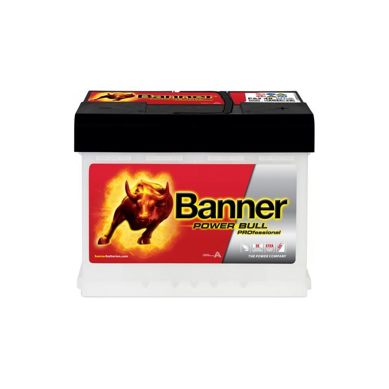 BANNER POWER BULL PRO 63AH 620A R+