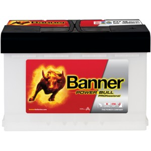 Акумулатор BANNER POWER BULL PRO 75AH 680A R+
