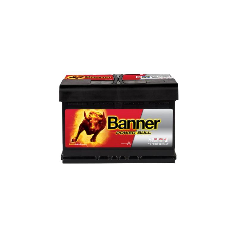 BANNER POWER BULL 72AH 660A R+