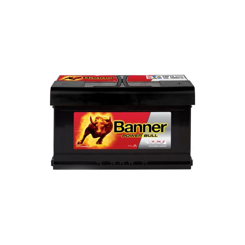 BANNER POWER BULL 80AH 700A R+