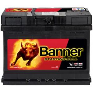 BANNER STARTING BULL 62AH 480A R+