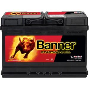 BANNER STARTING BULL 72AH 640A R+