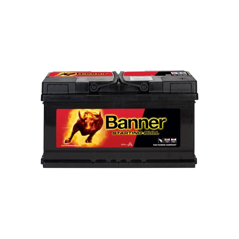 BANNER STARTING BULL 80AH 660A R+