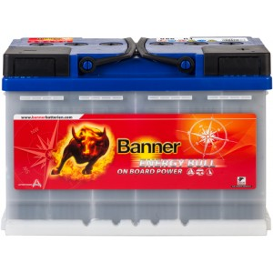 Акумулатор BANNER ENERGY BULL 80AH TRACTION R+