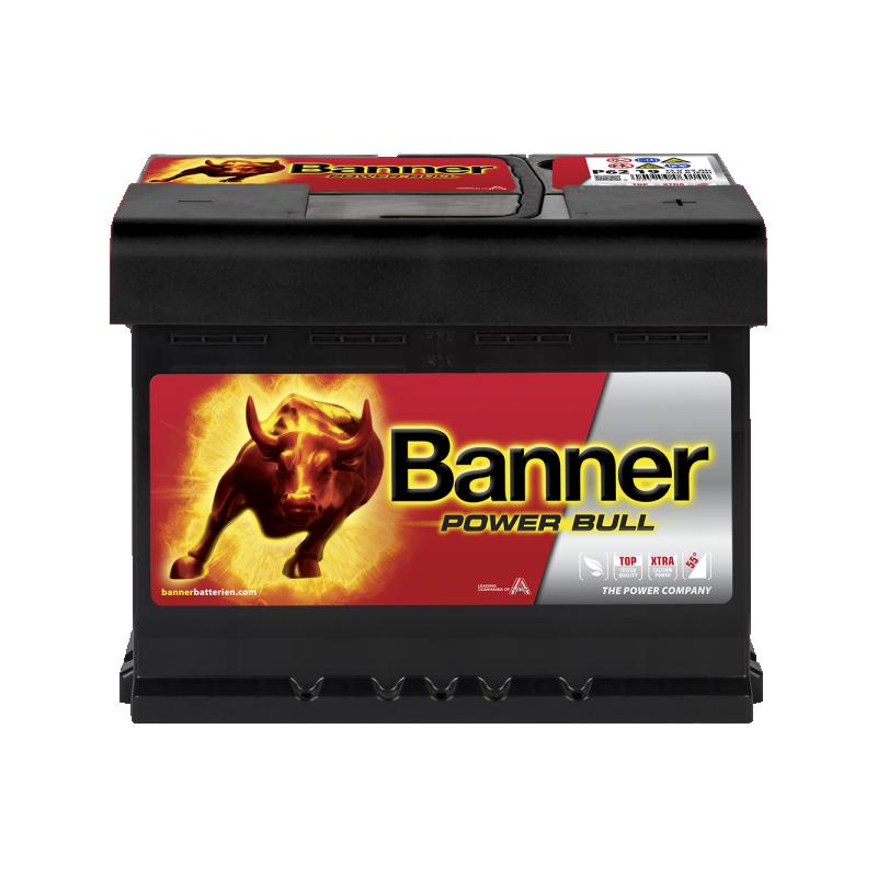 BANNER POWER BULL 62AH 550A R+