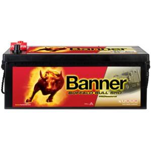 Акумулатор BANNER BUFFALO BULL SHD PRO 180AH 1000A L+