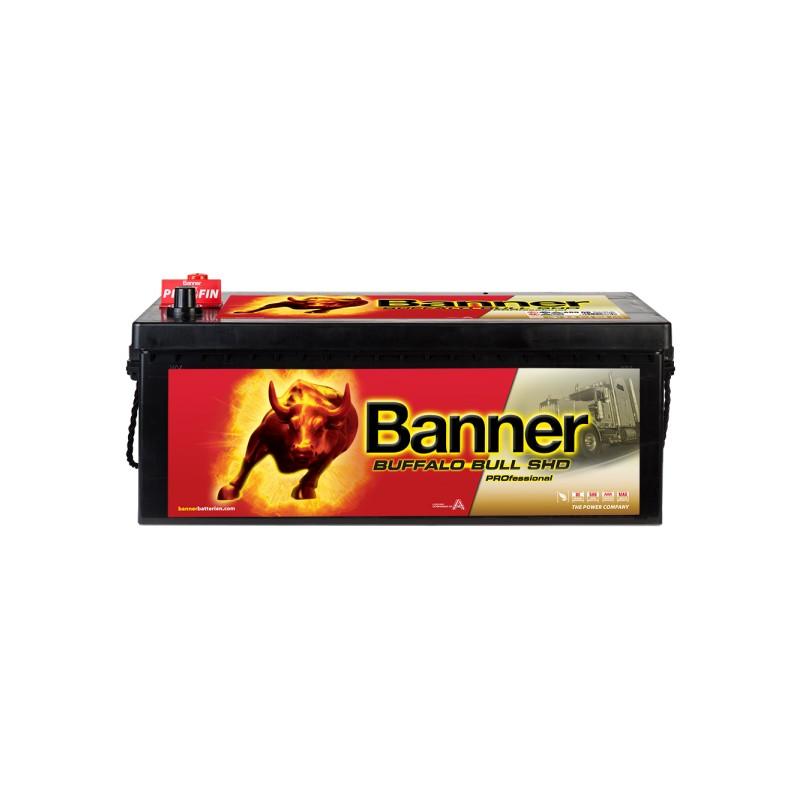 BANNER BUFFALO BULL SHD PRO 180AH 1000A L+