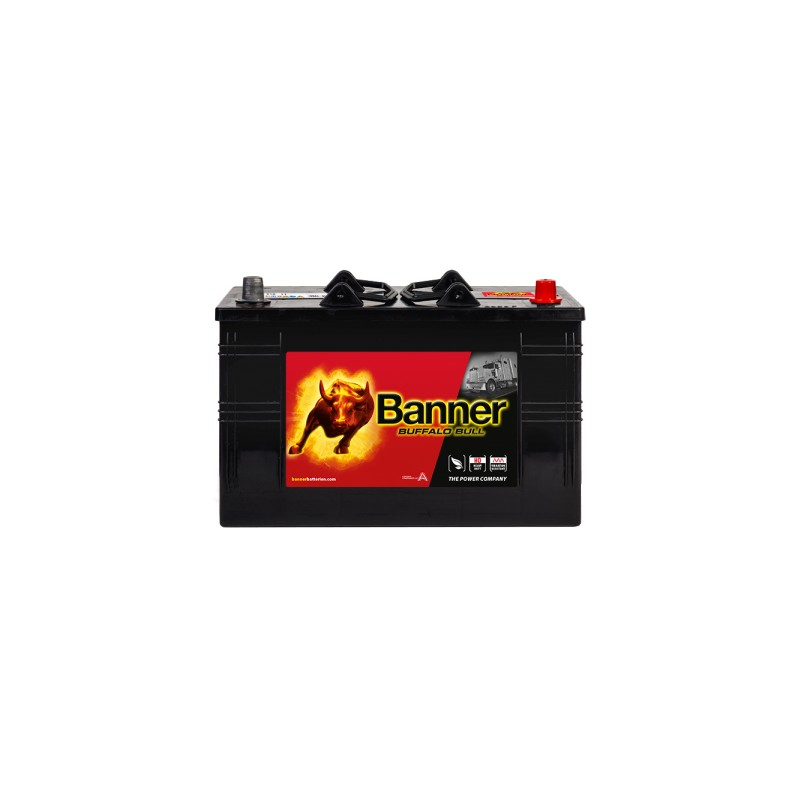 BANNER BUFFALO BULL 110AH 720A COMPACT R+