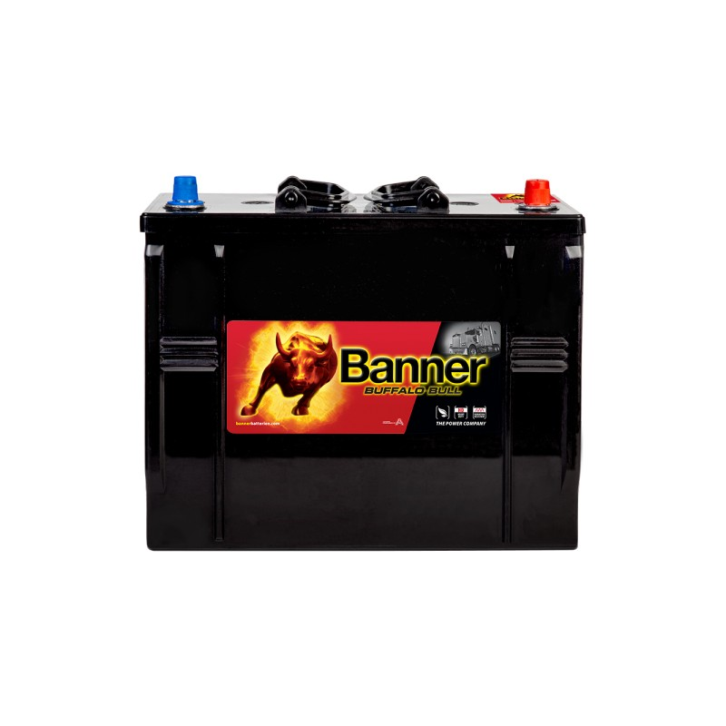BANNER BUFFALO BULL 125AH 760A COMPACT R+