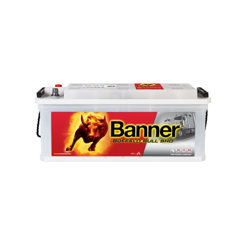 BANNER BUFFALO BULL SHD 135AH 900A L+