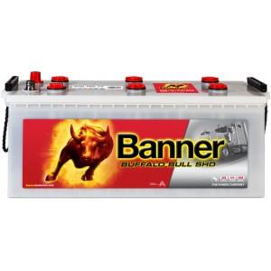 Акумулатор BANNER BUFFALO BULL SHD 180AH 1000A L+