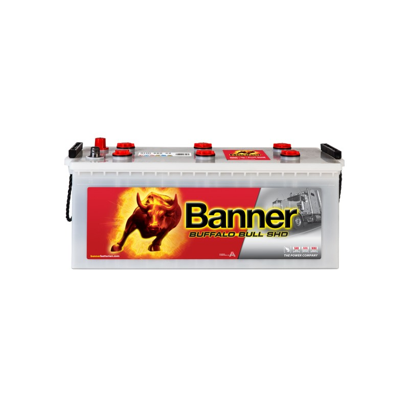 BANNER BUFFALO BULL SHD 180AH 1000A L+