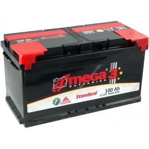 Акумулатор A-MEGA STANDART 100AH 850A R+