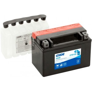 EXIDE BIKE AGM ETX9-BS 8AH 120A 12V L+