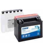 EXIDE BIKE AGM ETX12-BS 10AH 150A 12V L+