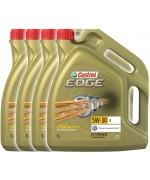 4 броя CASTROL EDGE  5W-30 5L