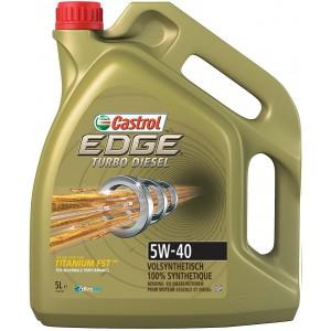 Castrol EDGE Turbo Diesel Titanium 5W-40 5L