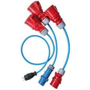 GO-E CEE EURO CHARGER ADAPTER SET