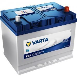 Акумулатор VARTA BLUE DYNAMIC E23 70AH 630A R+ JIS