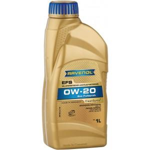 Моторно масло RAVENOL EFS ECOFULLSYNTH 0W-20 1L
