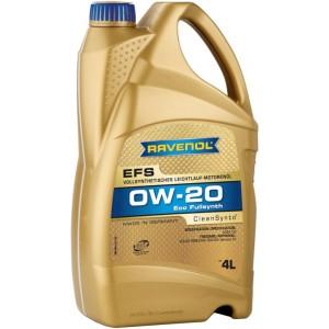 Моторни масла RAVENOL EFS ECOFULLSYNTH 0W20 4L