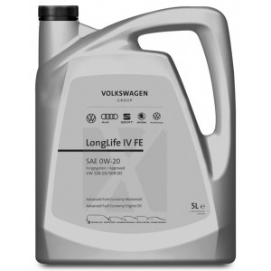 Моторно масло VOLKSWAGEN LONG LIFE IV FE 0W20 5L