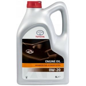 Моторно масло TOYOTA ADVANCED FUEL ECONOMY EXTRA 0W-20 5L