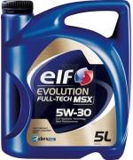 ELF EVOLUTION FULL-TECH MSX 5W-30 5L 1