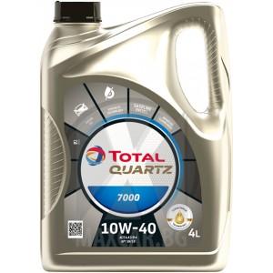 Моторно масло TOTAL QUARTZ 7000 10W-40 4L
