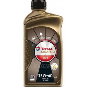Моторно масло TOTAL QUARTZ 5000 15W-40 1L