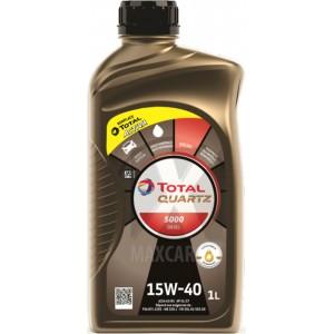 Моторно масло TOTAL QUARTZ 5000 DIESEL 15W-40 1L