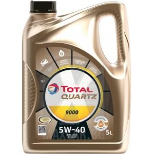 Моторно масло TOTAL QUARTZ 9000 5W-40 5L