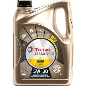 Моторно масло TOTAL QUARTZ INEO MC3 5W-40 4L