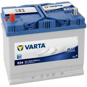 Акумулатор VARTA BLUE DYNAMIC Е24 70AH 630A L+ JIS