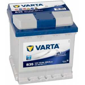 Акумулатор VARTA BLUE DYNAMIC B3 42AH 390A R+