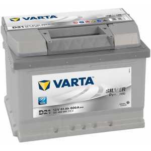 Акумулатор VARTA SILVER DYNAMIC D21 61AH 600A R+