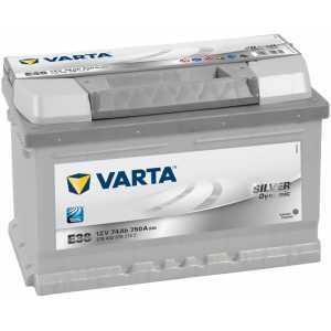 Акумулатор VARTA SILVER DYNAMIC Е38 74AH 750A R+
