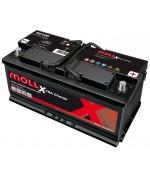 MOLL M3 PLUS 100AH 850A R+