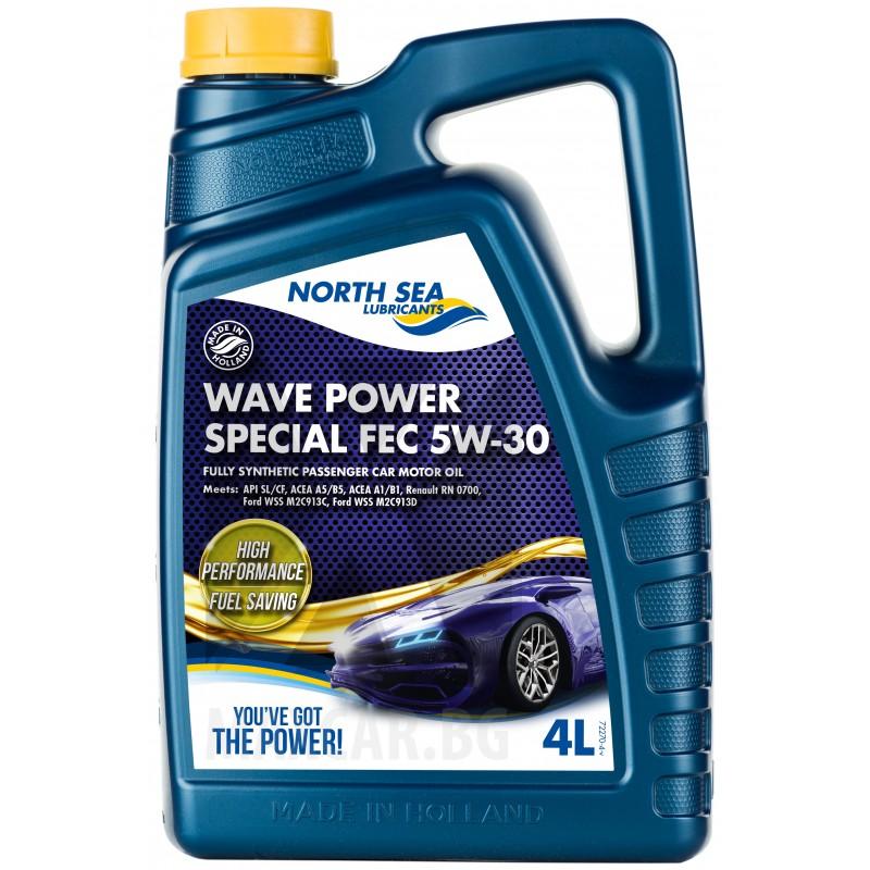NORTH SEA WAVE POWER SPECIAL FEC 5W-30 4L