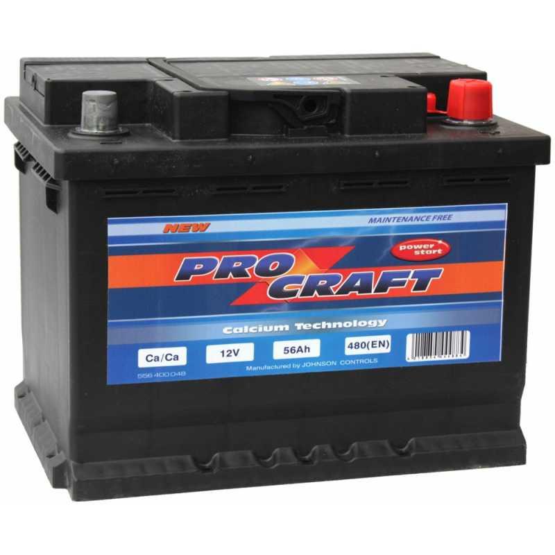 PROCRAFT 56AH 480A R+