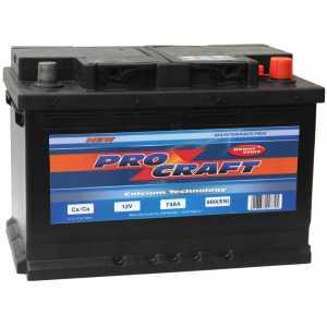 PROCRAFT 74AH 680A R+